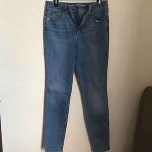 High rise skinny-jeans size 12